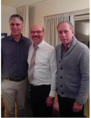 Hein Hoere en Evangelist David 2 november 2014