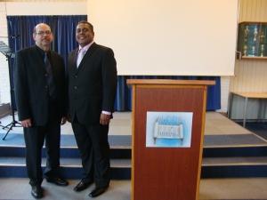 Pastor Roy en Pastor Ramiro Richards