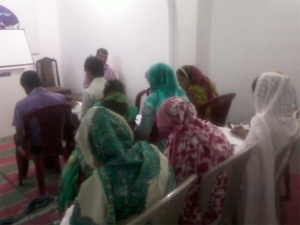 Start our bible school in Pakistan on 14 may 2012